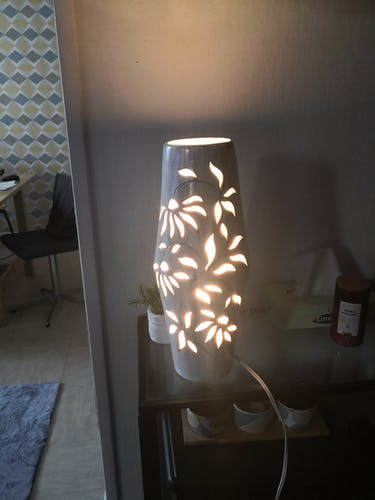 Lampe de table Camos Vallauris