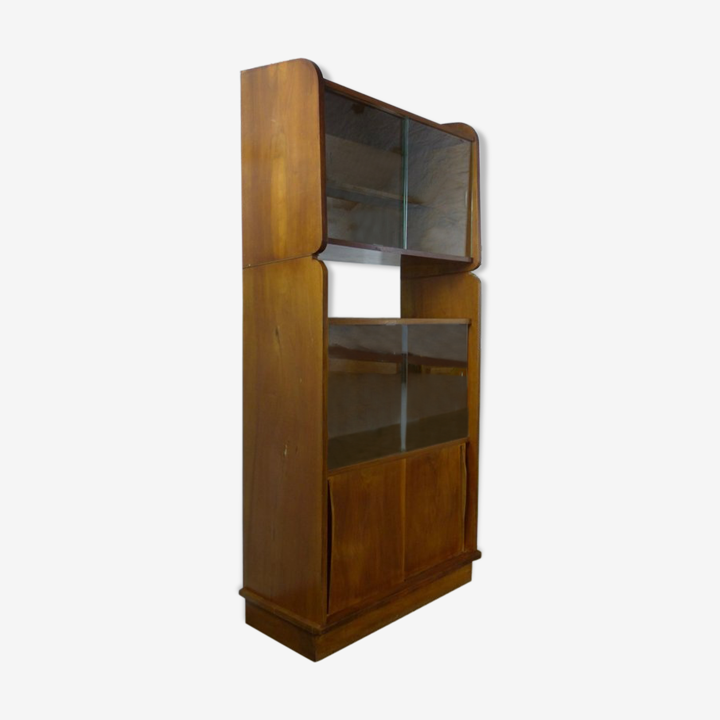 Vintage library 50's in walnut