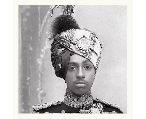 Photographie du maharaja Sumer Singh de Jodhpur