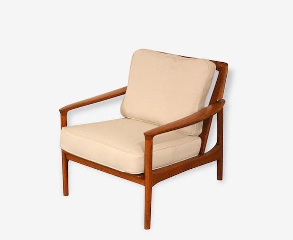 fauteuil scandinave vintage retapiss - Fauteuil Scandinave Vintage