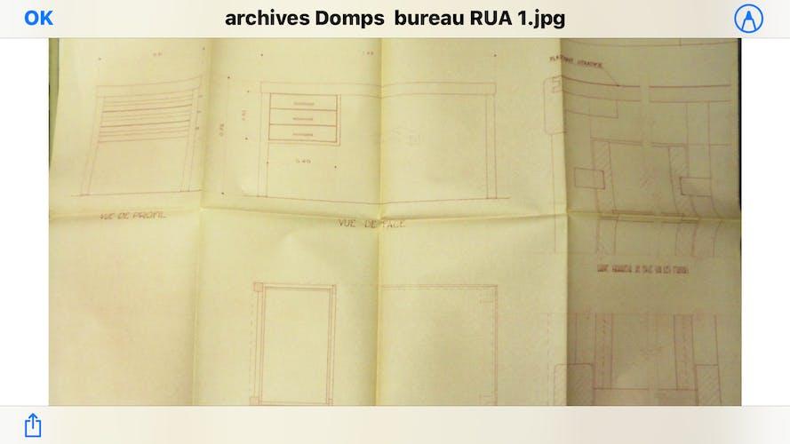 Bureau de Jean Domps
