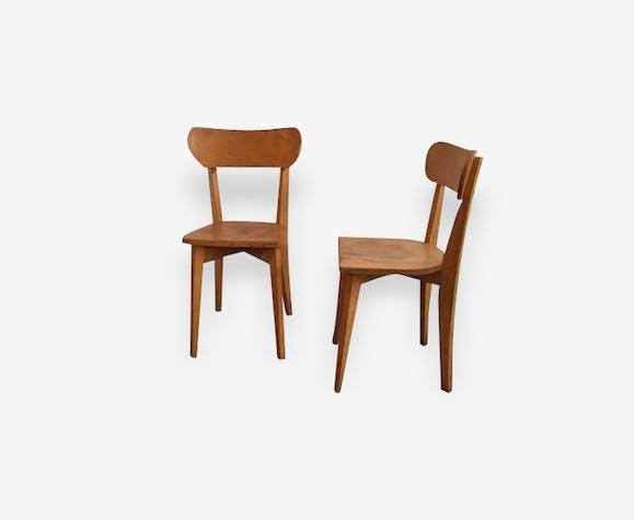 Paire de chaises de bistrot