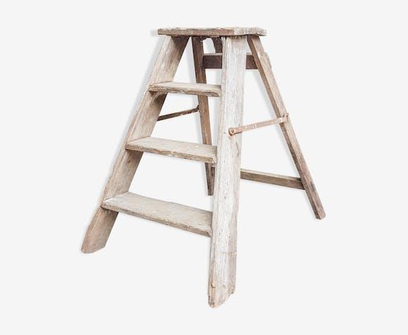Vintage Wooden Ladder Selency