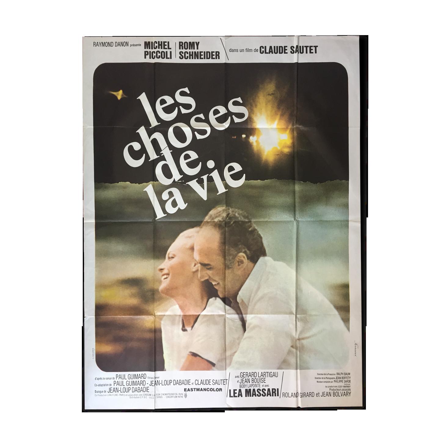 Les choses de la vie Romy Scheider movie poster