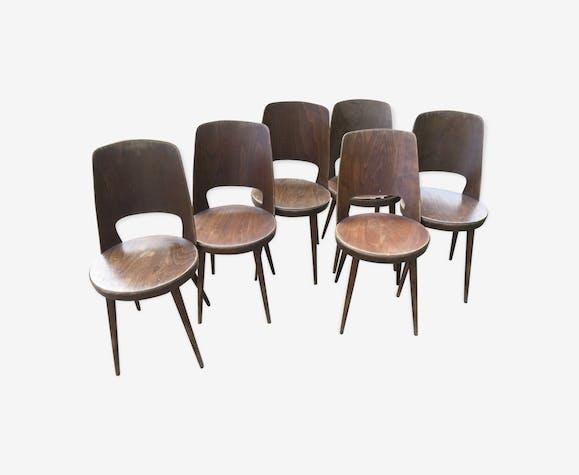 Set de 6 chaises Baumann Mondor