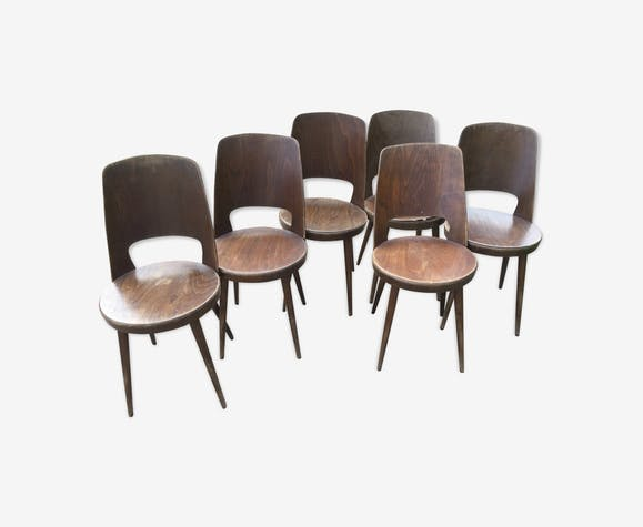 Set of 6 chairs Baumann Mondor