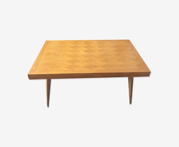 Table De Salle A Manger Vintage Scandinave Pieds Compas Extensible