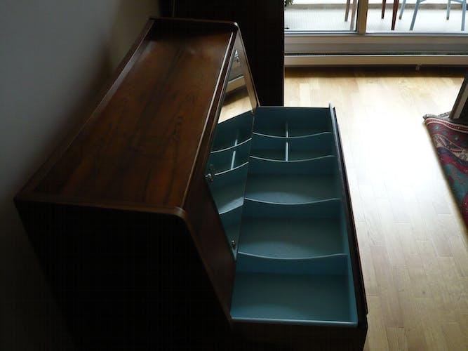 Secretary scandinavian rosewood furniture from rio