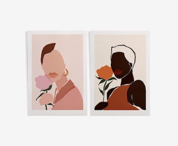 """Duo """"Portraits"""" de Sacrée Frangine"""