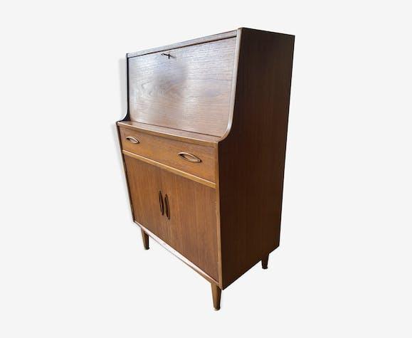 Secrétaire vintage teck années 60