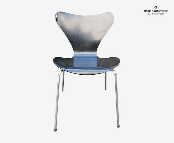 Chaise Arne Jacobsen Pour Fritz Hansen 1967 Bois Matériau
