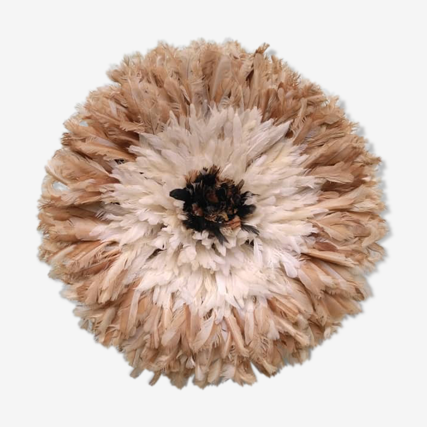 Juju Hat inside natural Contour white and Beige 55 cm