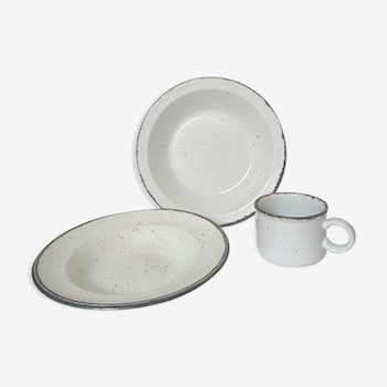 Assiettes et tasse Johnson Brothers
