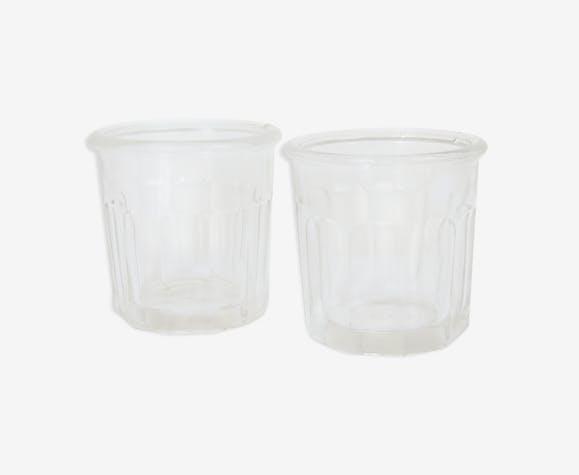 Deux pots à confiture 375 g