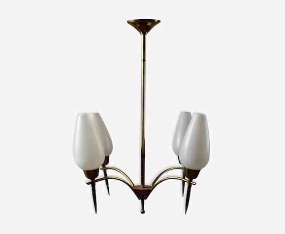 lustre ann es 50 fer dor vintage htdwhwb. Black Bedroom Furniture Sets. Home Design Ideas