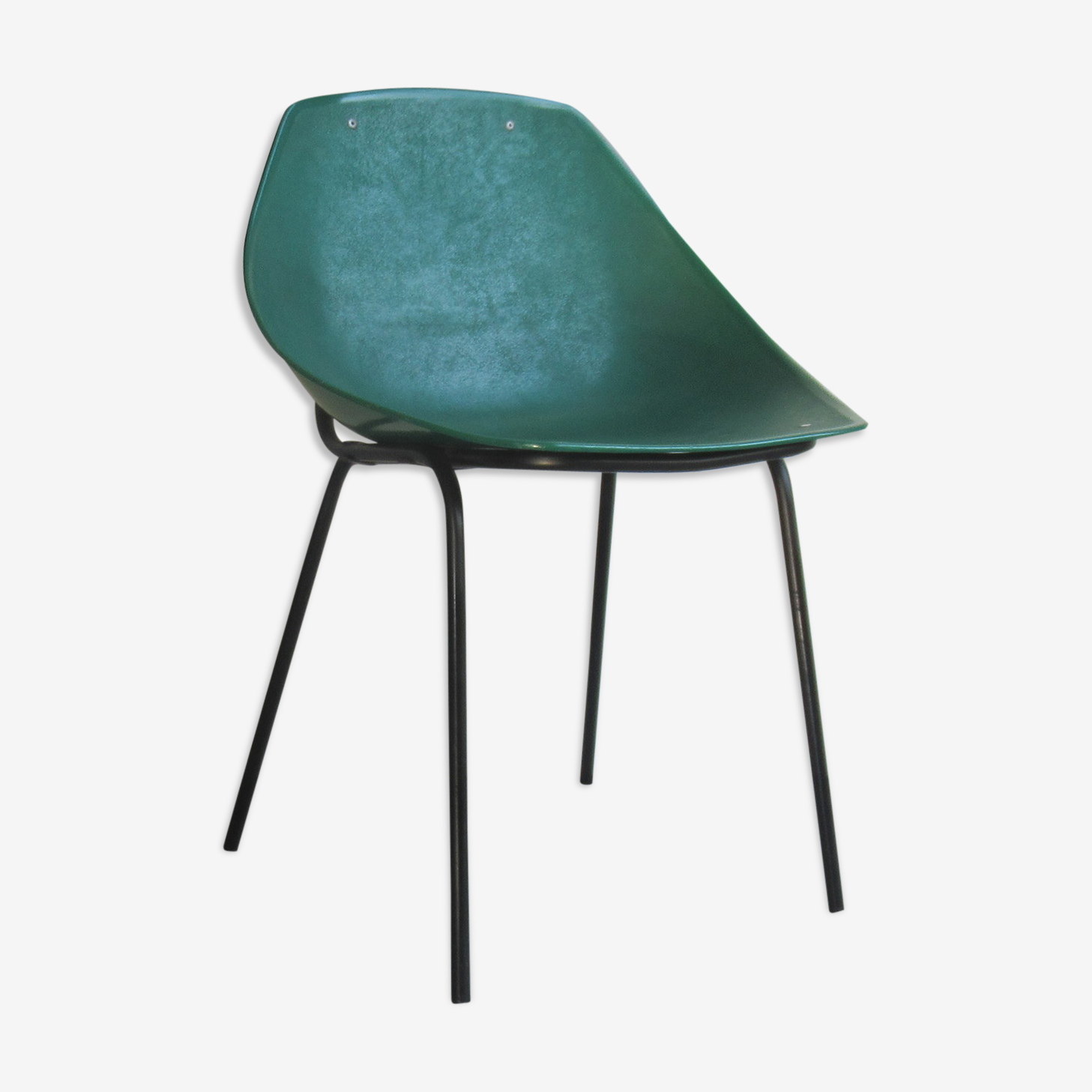 Set of 3 shell chairs Pierre Guariche for Meurop, 1961