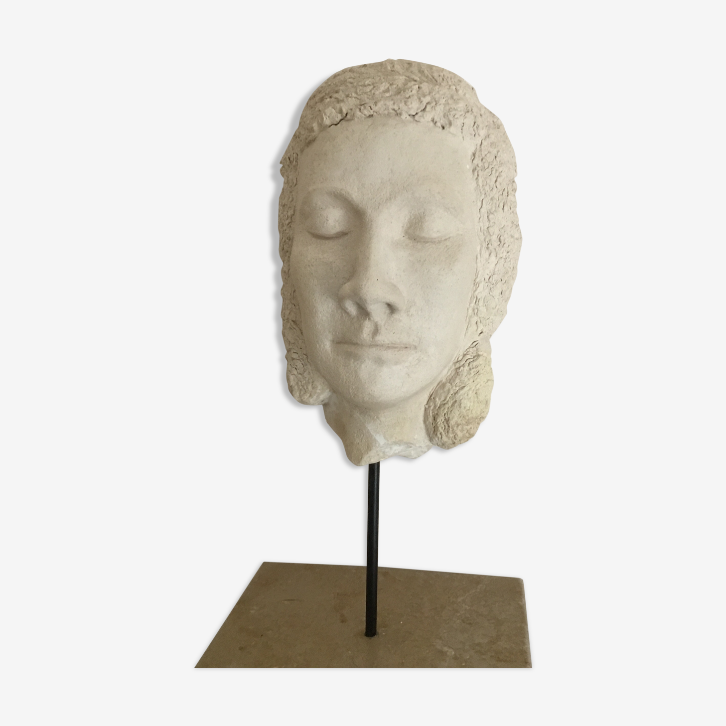 Head of woman art deco
