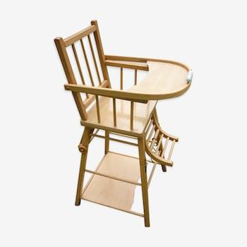 Chaise enfant ancienne chaise haute vintage d 39 occasion - Chaise haute combelle occasion ...