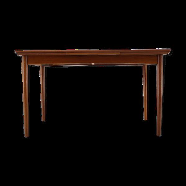 Table extensible danoise en teck des années 1960