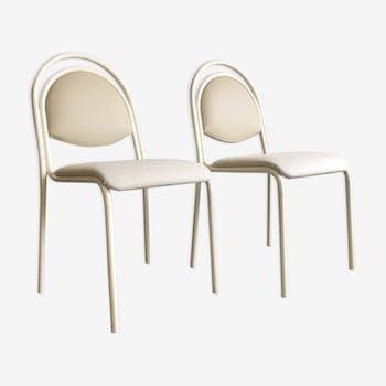 Ensemble de chaises vintage restaurées