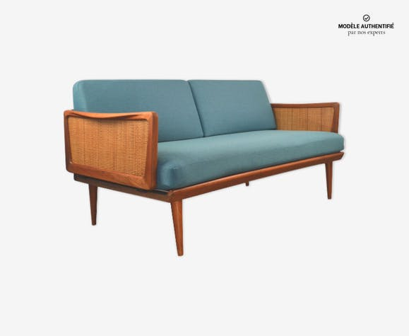Canapé en teck 2 places par Peter Hvidt & Orla Mimouni-Nielsen