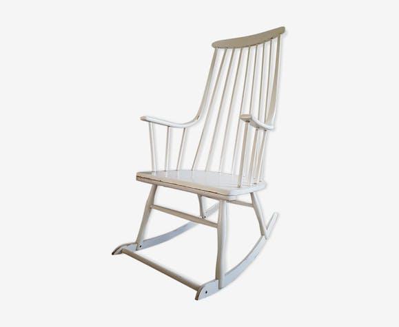 "Rocking-chair scandinavian 1960 - model ""grandessa"" editor Nesto"