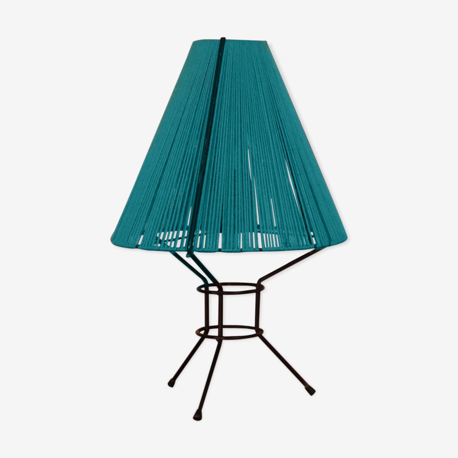 Lampe tripode vintage