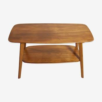 Mid-century walnut coffee table, 1960