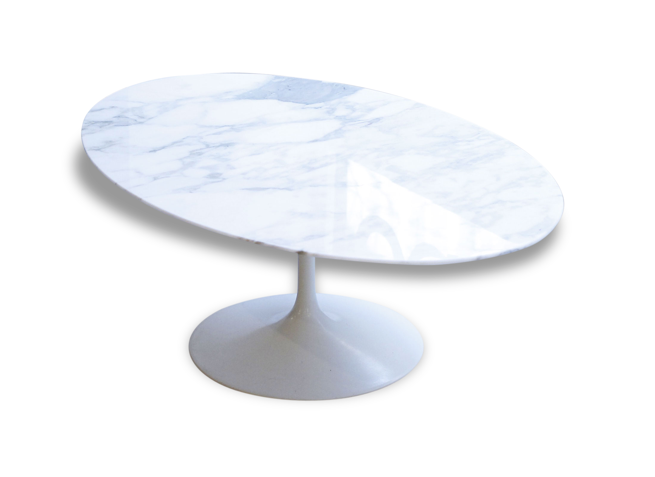 Table knoll marbre beautiful table marbre blanc on decoration d interieur moderne knoll - Table knoll ovale marbre blanc ...
