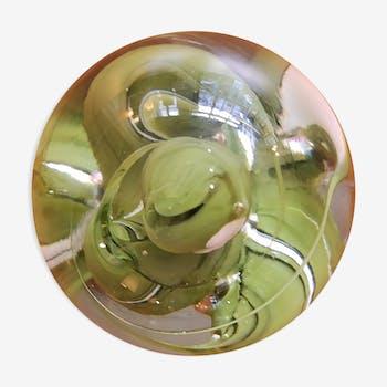 Press paper oval sulfide