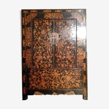Armoire chinoise antique amende 1800