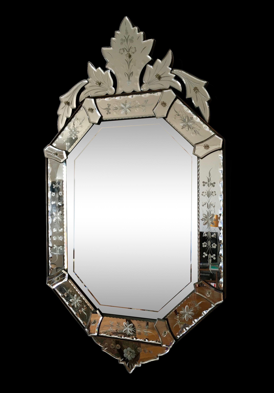 Miroir venitien rectangulaire 53266 miroir id es for Miroir venitien rectangulaire