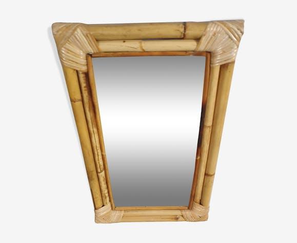 Bamboo Mirror 35x56cm