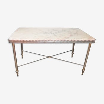 Neo-classical marble coffee table