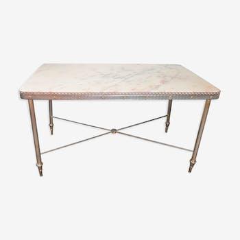 Table basse en marbre de style néo-classique