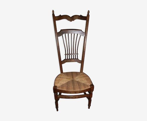 Chaise De Nourrice Paillee