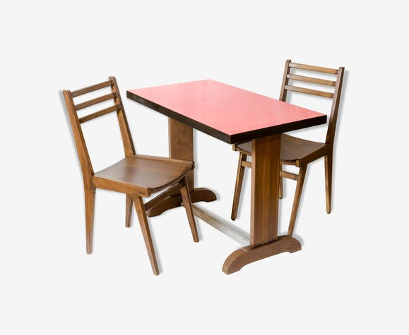 Chaises style bistrot great chaise lot de chaises style - Table et chaises bistrot ...