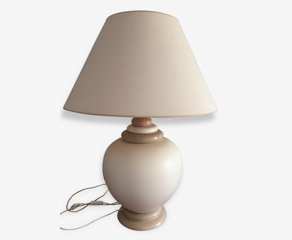 Lampe Faïence Classique CéramiquePorcelaineamp; Kostka Beige WYE2eIDH9