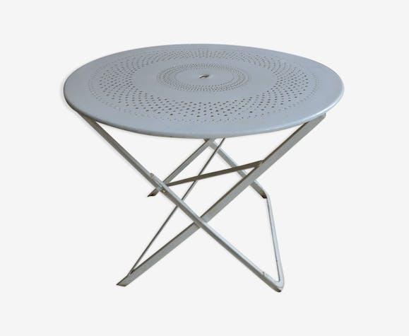 Fer Contemporain Pliante Table Blanc Qexqph0 Fermob xdsQChrt
