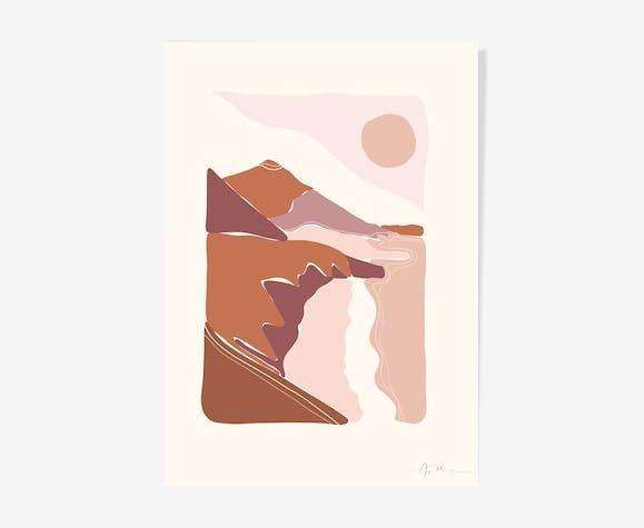 "Illustration ""Paysage n°4"""