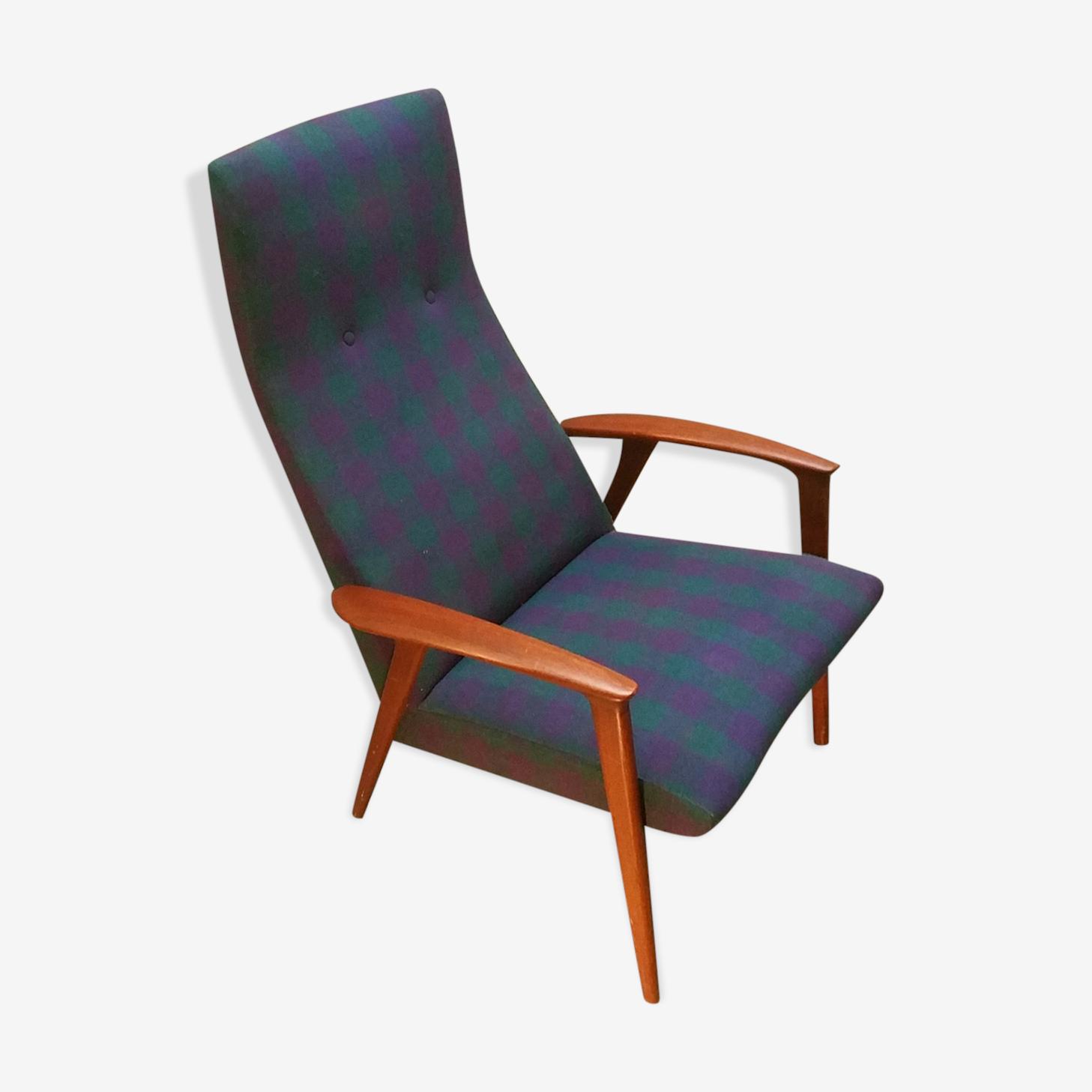 Fauteuil scandinave danois  années 50-60