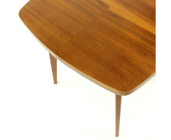 Square coffee table By Tatra, Czechoslovakia 1960