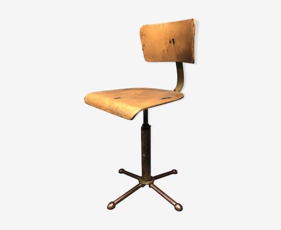 Chaise De Bureau Industriel Ou Tabouret De Travail Allemagne