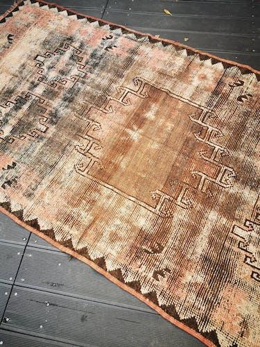 Tapis Berbère de l'atlas marocain 236/124 cm