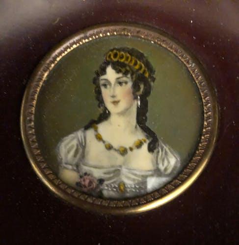 Miniature Napoléon III