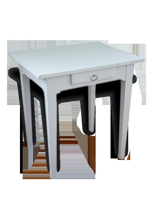 Petite table bureau ancien bois matériau classique