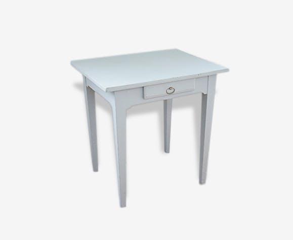 Petite table bureau ancien bois matériau classique 26574