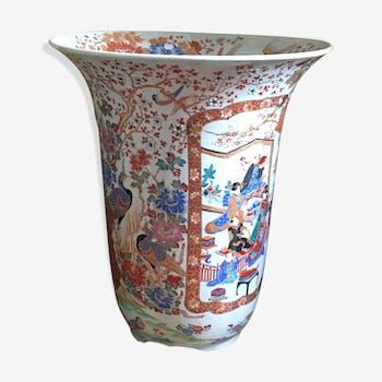 Vase Japon - à décor de scène de cour