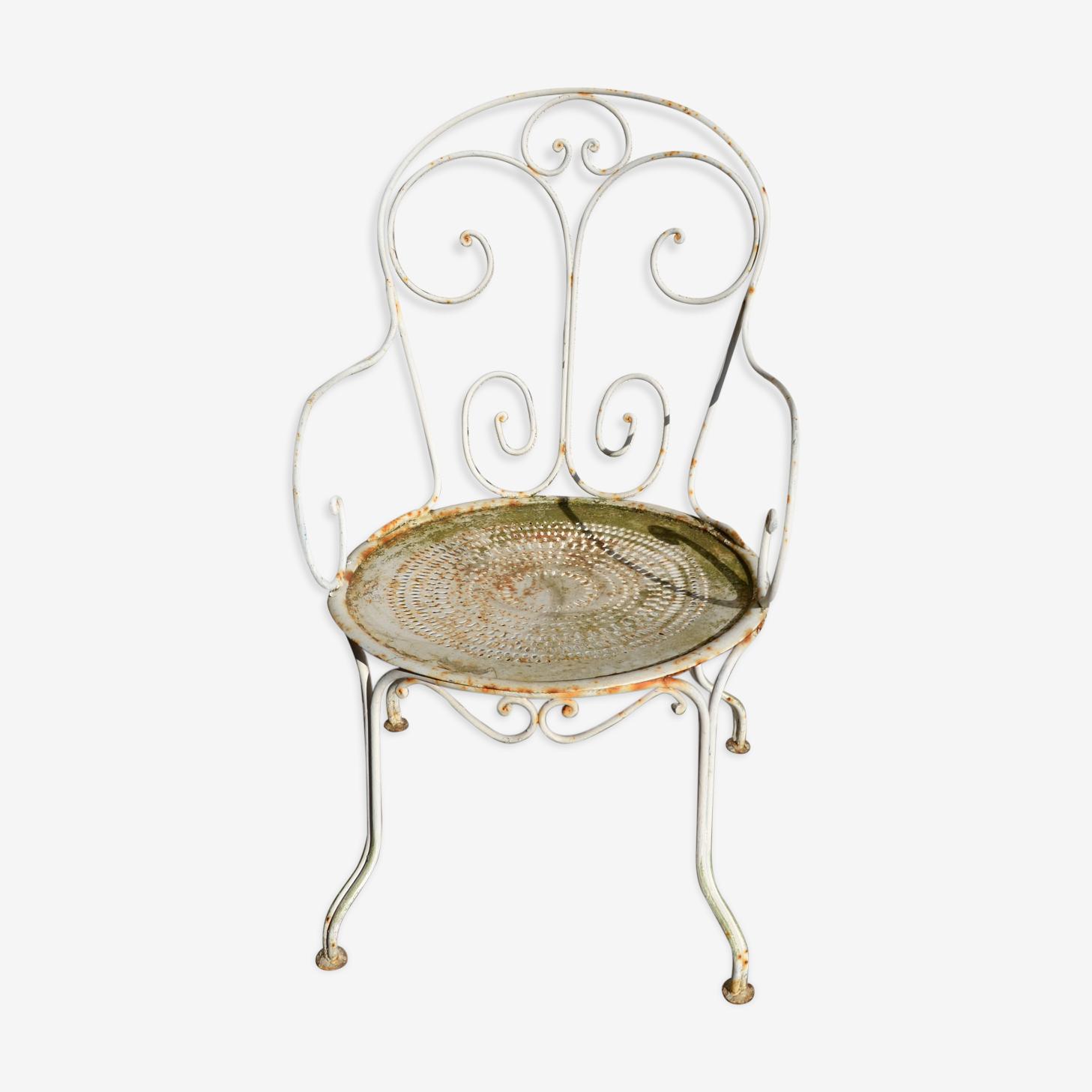 Tin outdoor Chair