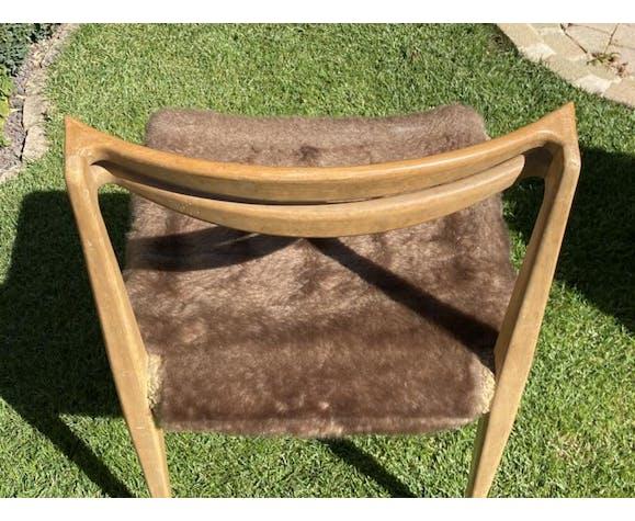 Paire de chaises vintages scandinaves